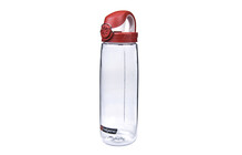 Nalgene Everyday OTF Flasche transparent/rot